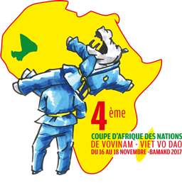 logo viet vo dao, fédération malienne viet vo dao, mascotte mali viet vo dao, viet vo dao mali 2017, coupe d'afrique viet vo dao, fédération malienne vovinam viet vo dao
