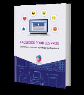 E-book gratuit : 20 meilleurs contenus à partager sur Facebook