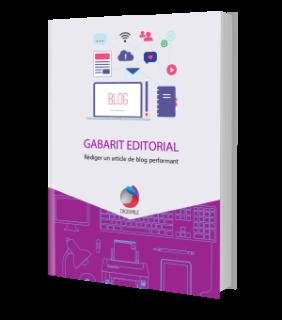 Ebook : Gabarit éditorial pour rédiger un article de blog performant - DIGISMILE