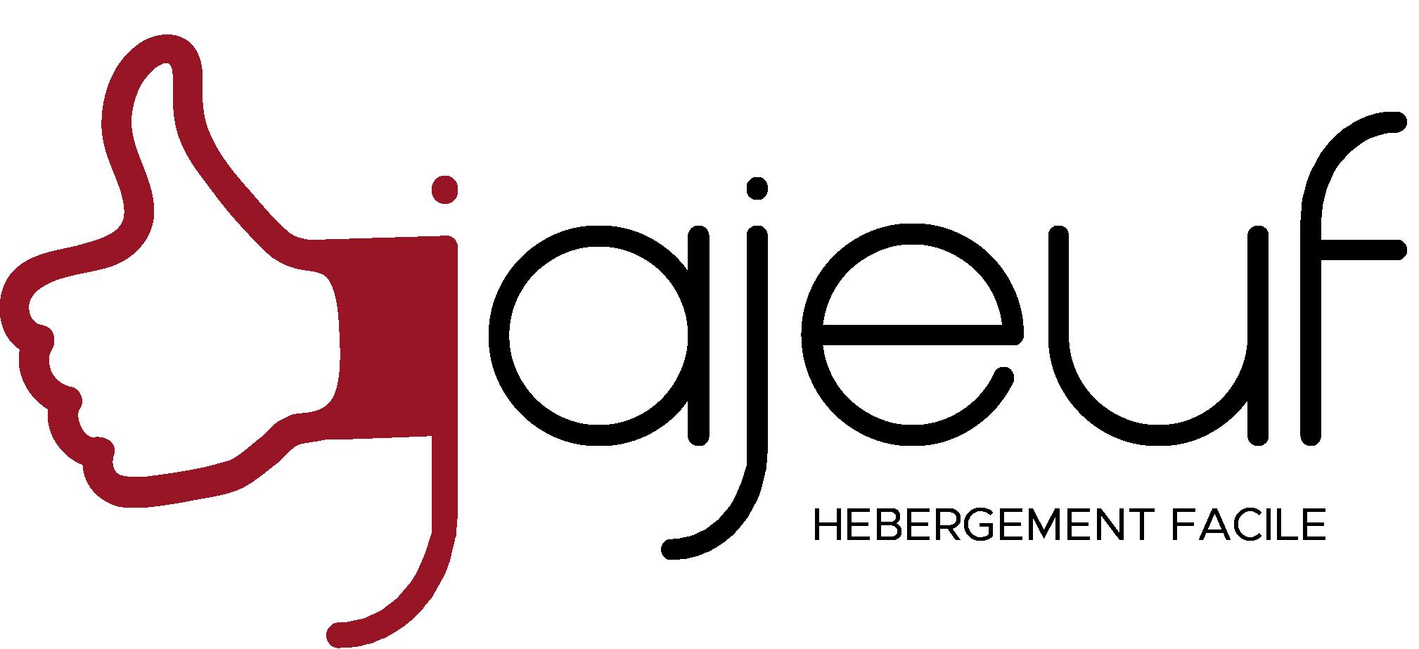 logo jajeuf hosting - hébergement site web