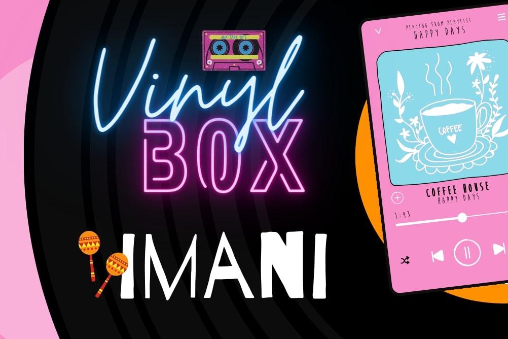 vinyl-box de imani - la wewer de digismile