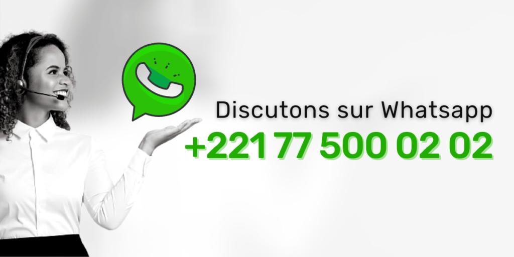 Discutez avec l'équipe DIGISMILE sur Whatsapp. N'hésitez pas à nous poser vos questions.